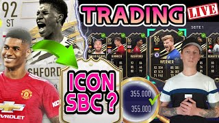 FIFA 21 LIVE 🔴 WL Gameplay ICON SBC + TRADING Weekend League SELL OFF 🤑 FUT 21
