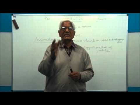 CONCEPT OF OPPORTUNITY COST Class XII Economics by S K Agarwala