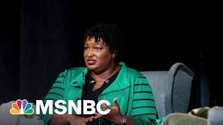 'She Mowed Him Down': Sen. Kennedy Grills Stacey Abrams On Georgia Law | Morning Joe | MSNBC