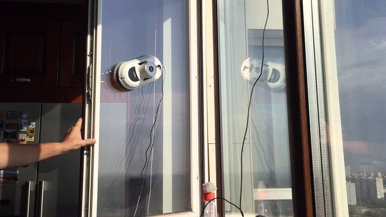 HOBOT 268 Window Cleaning Robot - YouTube