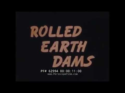 U.S. ARMY CORPS OF ENGINEERS   CONSTRUCTION OF ROLLED EARTH DAMS  62994