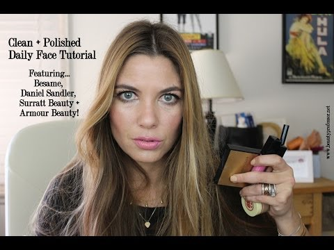 Daily Face Tutorial Featuring Besame, Surratt Beauty and Armour Beauty!