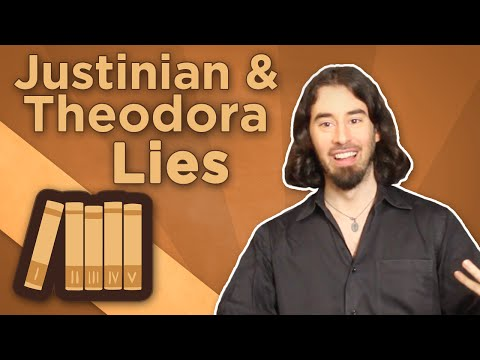 Byzantine Empire: Justinian and Theodora - Lies - Extra History