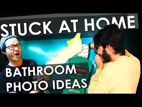 5 CRAZY DIY Bathroom Photography Ideas! 🔥