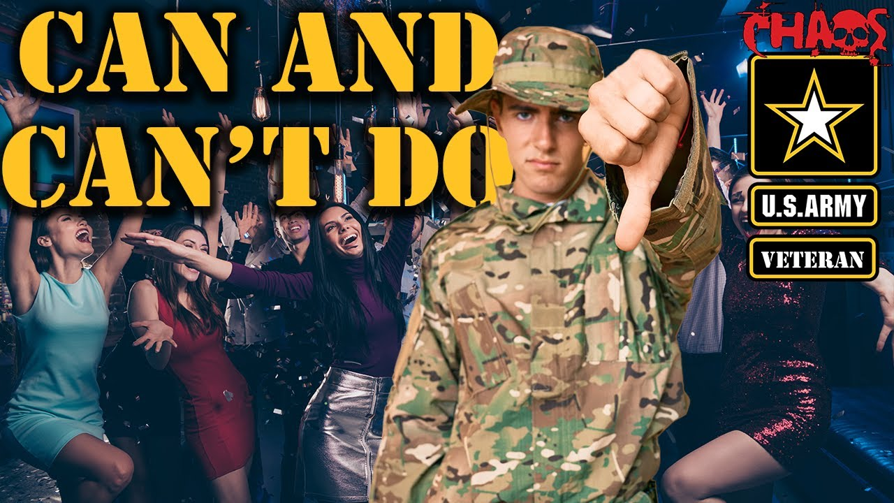 Download What you can and can't do in the Army barracks