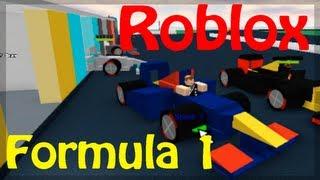 Jogando Roblox - Formula 1