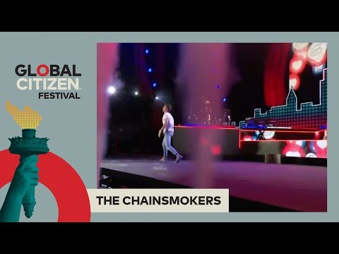 The Chainsmokers Perform 'Something Just Like This' | Global Citizen Festival NYC 2017