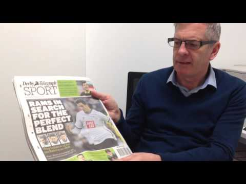Derby Telegraph's Steve Nicholson previews Rams v Brighton