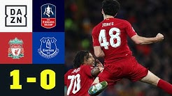 Traumtor! 18-jähriger Jones entscheidet Merseyside Derby: Liverpool - Everton 1:0 | FA Cup | DAZN