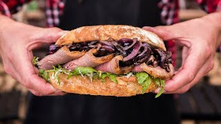 Classic Steak Sandwich Recipe - Don't Watch This Hungry!!!
