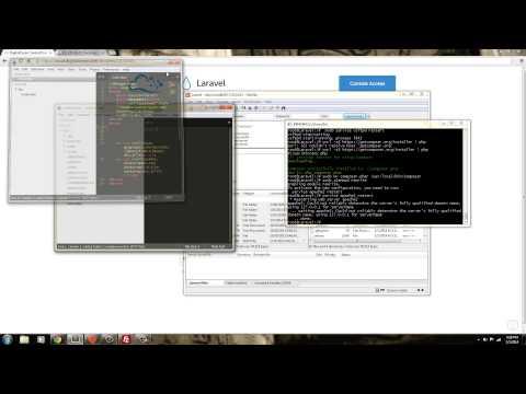 Install Laravel 4