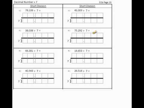 QTS Division Mental Arithmetic - Numeracy Professional Skills Test