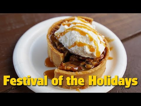 Dining at Festival of the Holidays | Epcot