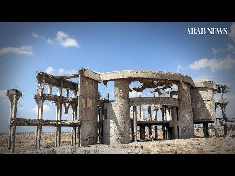 Destroyed Gaza airport symbolizes grounded peace hopes