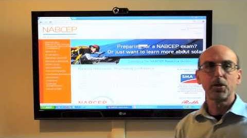 Solar Energy - NABCEP certification