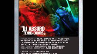 DJ Absurd - Flying Colors EP (snippet) (Releasing digitally 6/28/11)