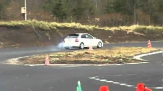 2010/11/14 武田車輌ニューシビック ASPテクニカルジムカーナRd5 第1ヒート