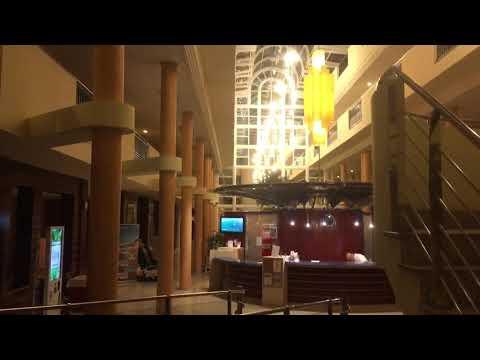 Crystal Beach Hotel Costa Calma Fuerteventura Entrance Reception Main Atrium Overview Guide