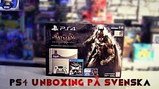 Batman Arkham Knight PS4 Limited Edition Unboxing På Svenska med P.5