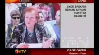 Zülfü Livaneli, Türkan Saylan Hakkında (18-05-2009)