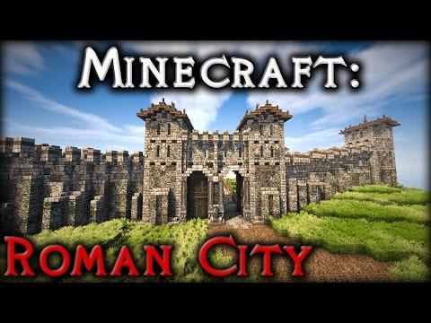 Roman - Ep36: City Walls & Planning (Timelapse & Tour)