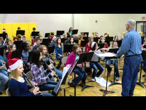 Chandler Intermediate Band - Christmas Medley