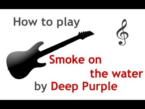 Guitar guitar tabs smoke on the water : Smoke on the Water guitar lesson, with chords - guitarguitar.net ...
