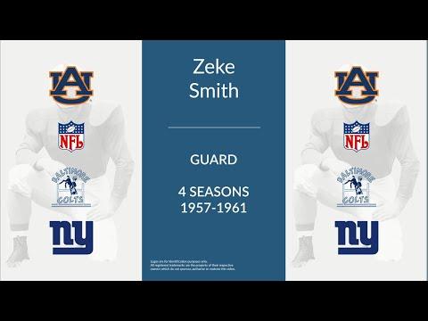 Zeke Smith: Football Guard
