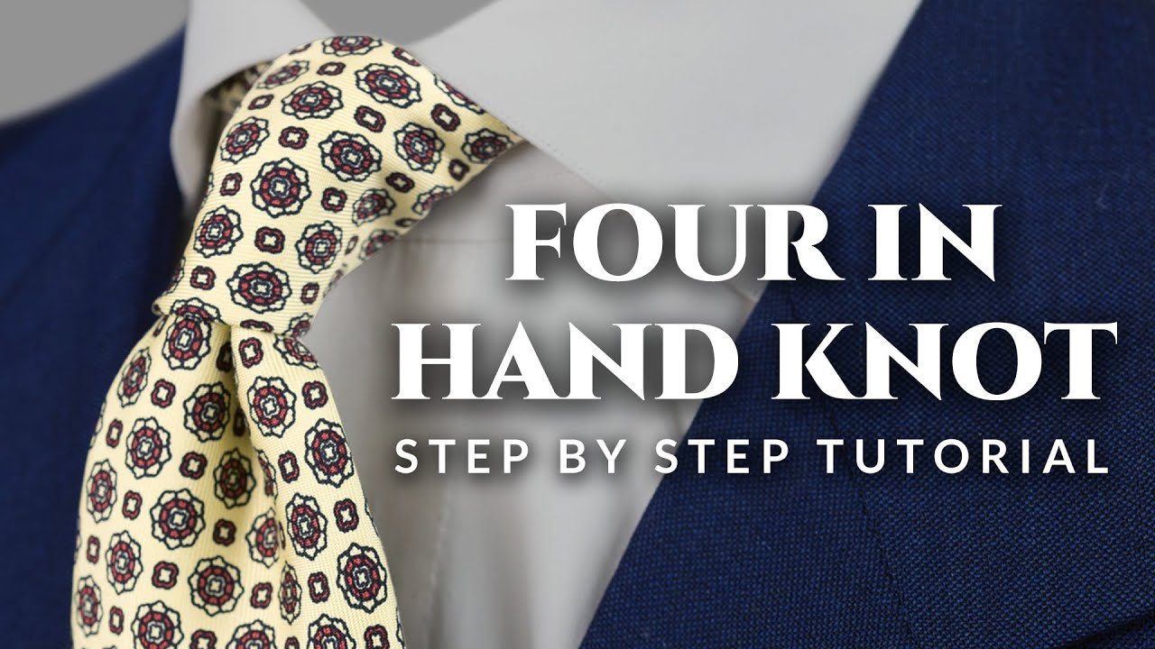 Four in hand tie knot tutorial step by step how to guide youtube ccuart Choice Image