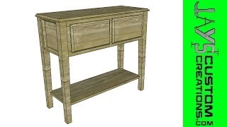 Sketchup - Sofa Table - 102