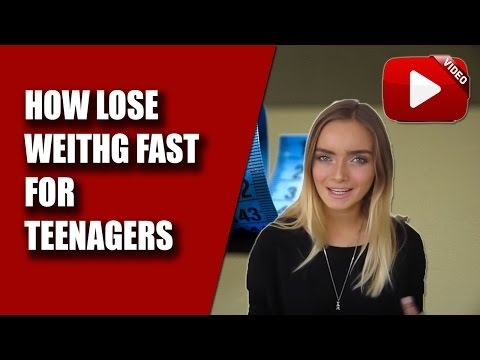 🤟BEST Ways for TEENAGER to LOSE WEIGHT 😱 How to lose weight FAST [Top SECRET]