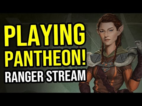 Pantheon Ranger Stream VoD – Pre Alpha Gameplay