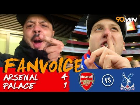 Arsenal 4-1 Crystal Palace | 4 goals in 22 minutes mean Arsenal destroy Palace 4-1! | FanVoice