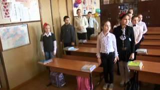 Фізкультхвилинка на уроці української мови у 4-му класі