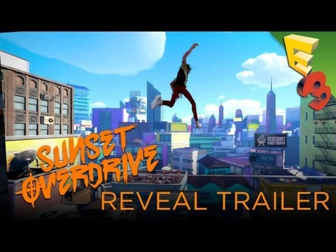 Sunset Overdrive REVEAL TRAILER! Xbox One Title from Insomniac Games