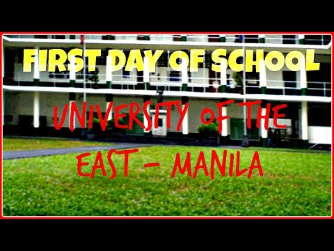 1st day of school 2017 | University of the East - Manila | Vlog #1