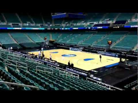 360-degree view of Greensboro Coliseum