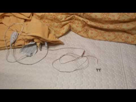 Как стирать электроодеяло