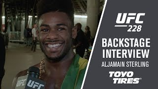 UFC 228: Aljamain Sterling -