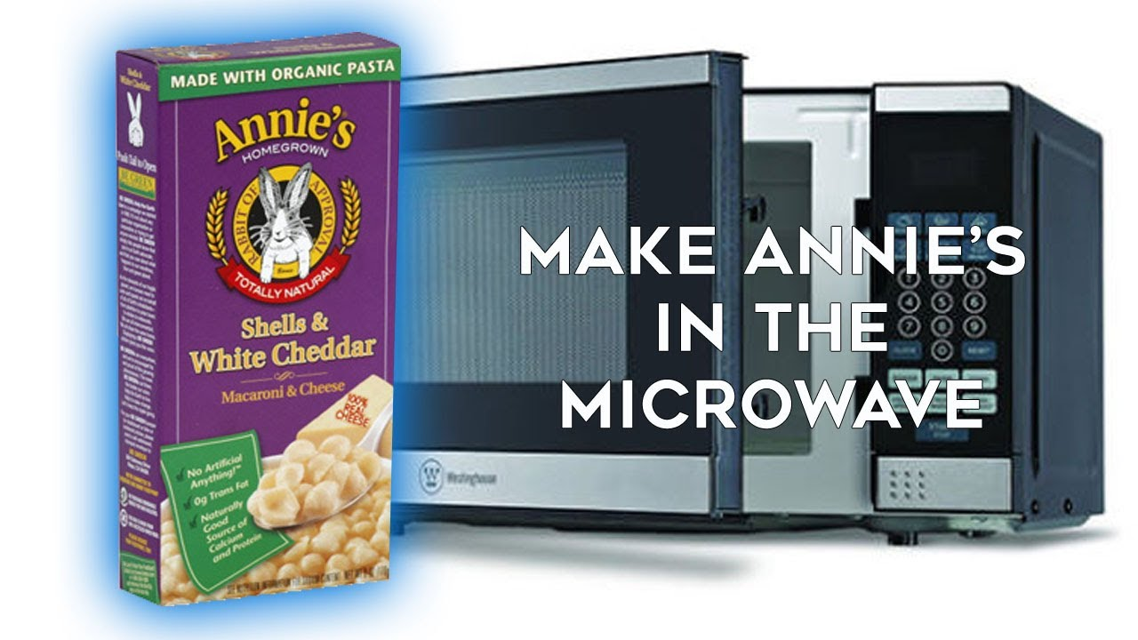 How To Cook Annie S Ss White Cheddar Mac Cheese In The Microwave