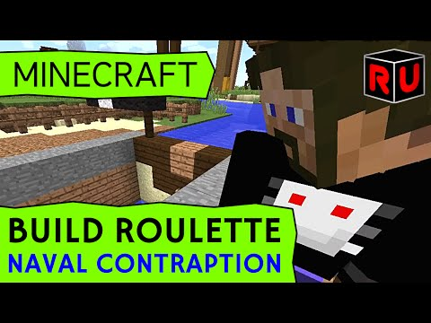PENDULOUS NAVAL CONTRAPTION: Docks, locks, boobs & balls! | Minecraft Build Roulette (S2 Ep 9)