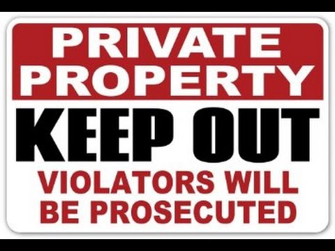 constitutional rights property rights and private But can a state law simply abrogate private property rights in this manner this is  the essential question that the minnesota supreme court will.