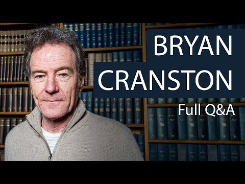 Bryan Cranston  Full Q&A at the Oxford Union