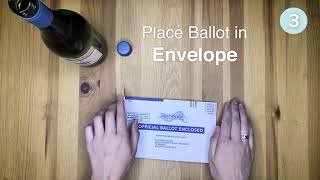 Ballot Instructional Video Ad