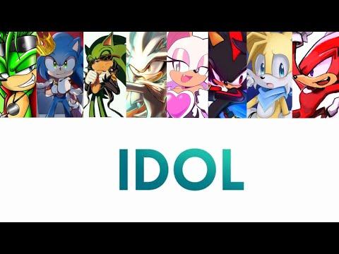 Sonic Boys | Idol 【ft. Rouge】