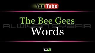 Karaoke The Bee Gees Words