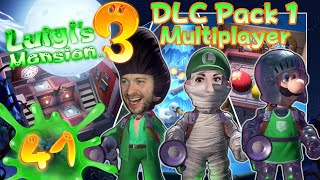LUIGIS MANSION 3 👻 #41: DLC Pack 1 Gameplay mit Juli