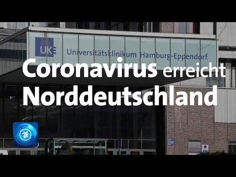 Coronavirus Erreicht Norddeutschland - Robert-Koch-Institut Geht Von Geringer Bis Mäßiger Gefahr Aus