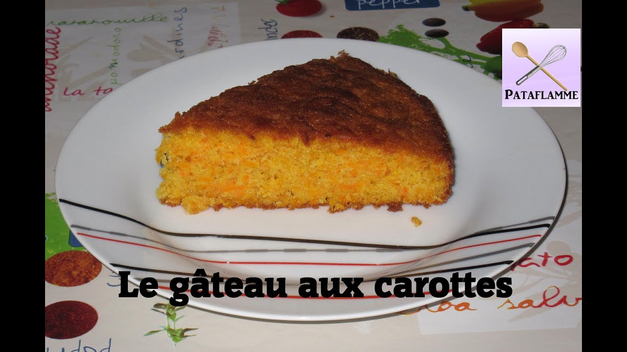 la recette du g teau moelleux aux carottes carrot cake recipe youtube. Black Bedroom Furniture Sets. Home Design Ideas