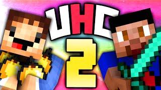 Minecraft UHC #2 (Season 12) - Ultra Hardcore with Vikkstar & Woofless